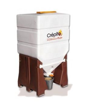 Pellets box stockage et distribution de 500 kg granul s de bois cr pito f - Stockage granules bois ...